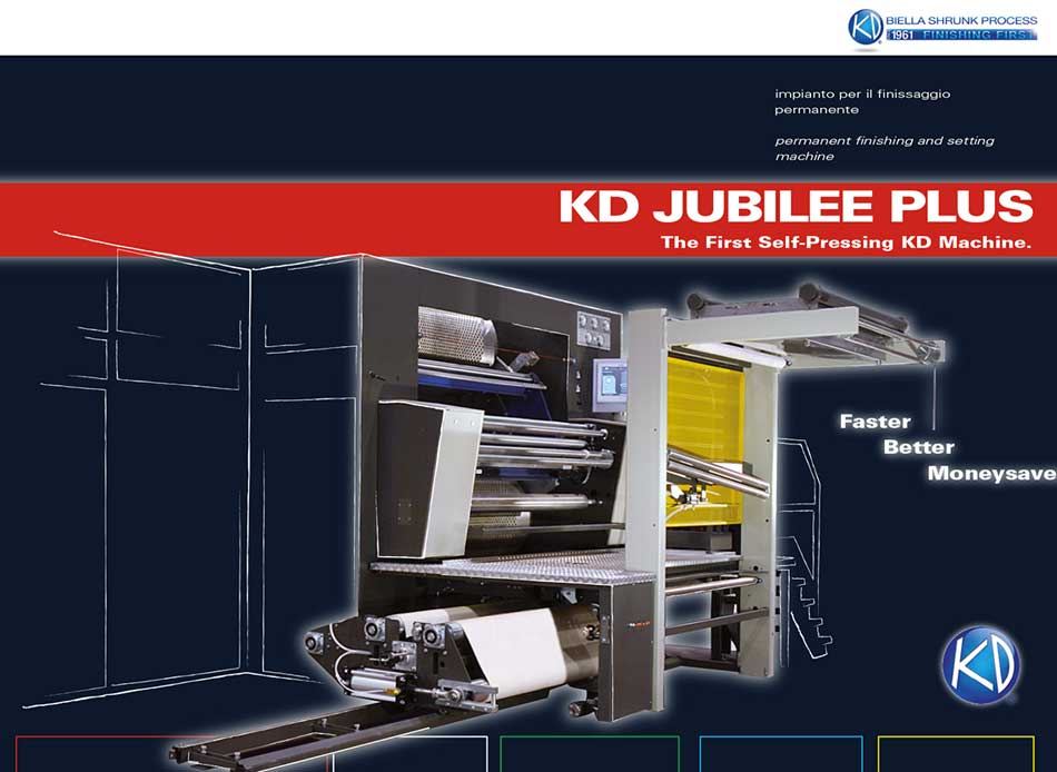 New KD Jubilee system presented at ITMA 2015
